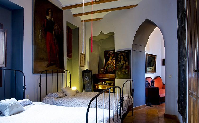 Habitación doble con sala de estar Muralla de Pego