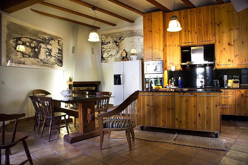 Espaciosa cocina mansión Muralla de Pego
