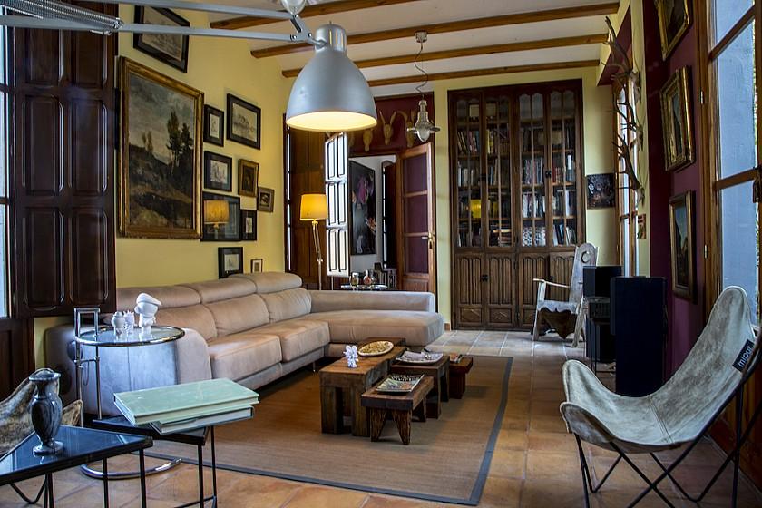Sala de relax mansión Muralla de Pego