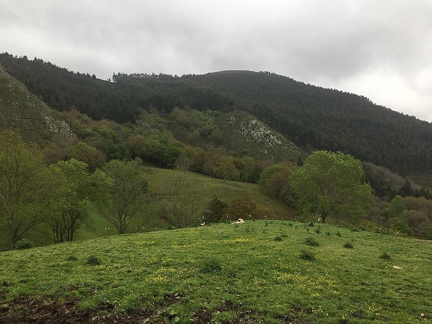 Sierra en el parke natural de Corrales de Buelna.