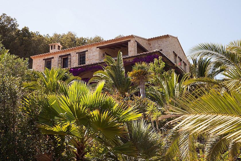 Jardín en mansión de lujo. Benissa.
