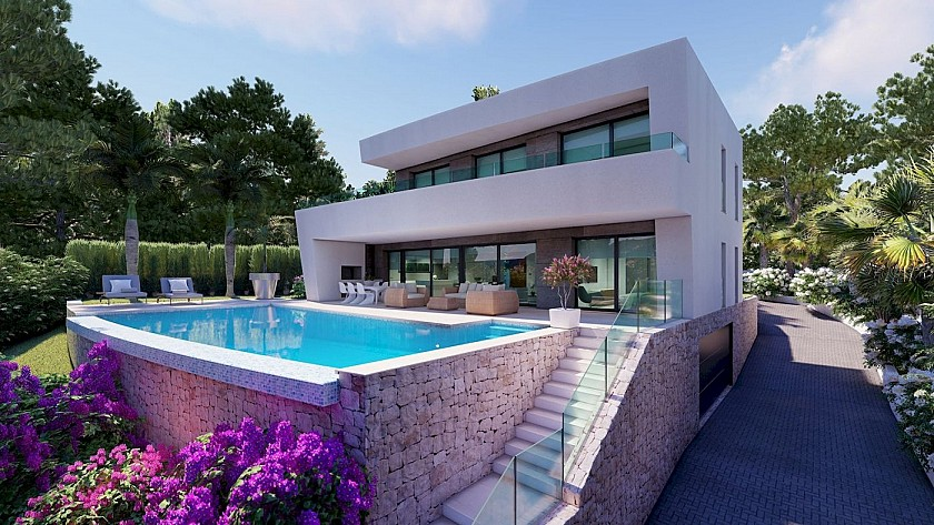 MODERN STYLE PROJECT 4 BEDROOMS. MORAIRA