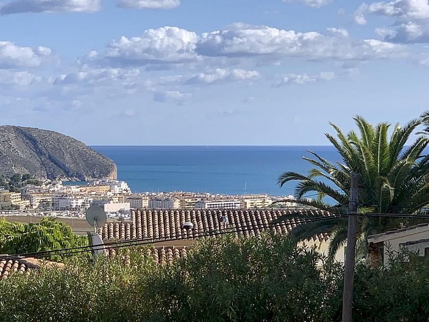 Bonitas vistas al puerto de Moraira
