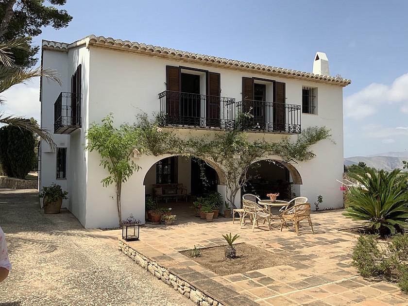 Casa de invitados villa en Benissa.