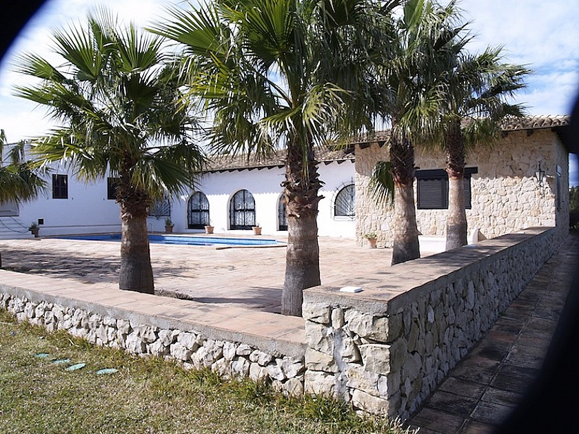Villa rústica con vistas al mar Mediterráneo. Benissa